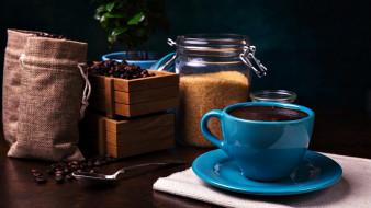 сахар, зерна, кофе