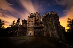 castillo de butr&, 243, города, замки испании, простор