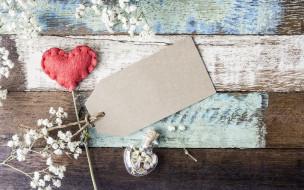 любовь, сердце, flowers, romantic, heart, wood, love, beautiful, red, цветы, vintage