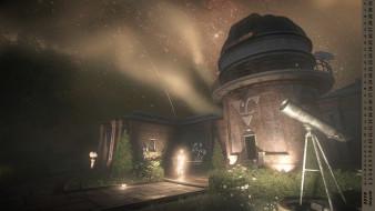 телескоп, здание