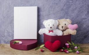 разное, игрушки, розовые, gift, сердце, pink, tulips, valentine's, day, bear, тюльпаны, romantic, cute, love, любовь, wood, мишка, цветы, игрушка, teddy, flowers, подарок, heart