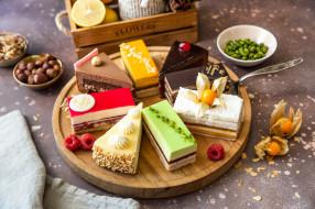 обои для рабочего стола 2048x1365 еда, пирожные,  кексы,  печенье, ассорти, кусочки