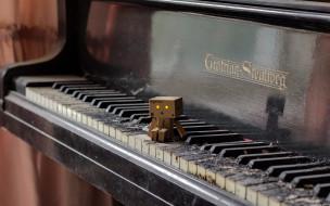 музыка, -музыкальные инструменты, коробка, пианино