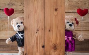 разное, игрушки, сердечки, любовь, gift, romantic, heart, valentine's, day, cute, bear, wood, love, сердце, медведь, red, teddy, игрушка