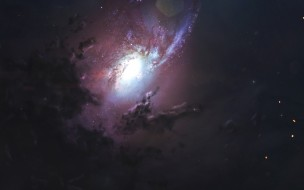 космос, галактики, туманности, stars, space, nebula, artwork, galaxy, digital, art, cosmos