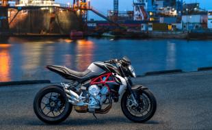 brutale 800, мотоцикл, harbor, mv augusta, wallhaven, морской порт