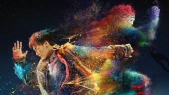 планета зверей , 2018, кино фильмы, -unknown , другое, планета, зверей, драма, фантастика, постер, китай, dong, wu, shi, jie, animal, word