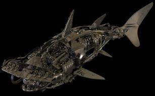 акула молот, металл, детали