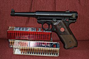 ruger mkiv standard, оружие, пистолеты, ствол