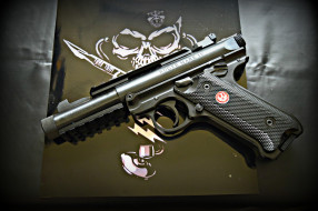 Ruger tactical 22 обои для рабочего стола 2048x1365 ruger tactical 22, оружие, пистолеты, ствол