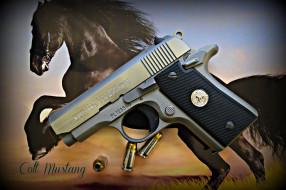 colt mustang 380, оружие, пистолеты, ствол