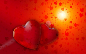 праздничные, день святого валентина,  сердечки,  любовь, любовь, сердечко, влюбленные, день, святого, валентина, сердце