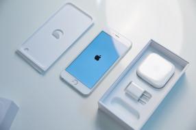 iPhone, Apple, White, Cupertino