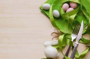 праздничные, пасха, декор, лента, яйца, кролик