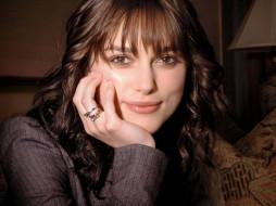 улыбка, лицо, актриса, кольца