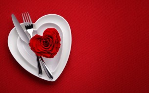 heart, rose, love, red, background, romantic
