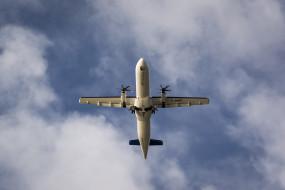 турбовинтовой, двухмоторный, пассажирский самолет, wallhaven, atr 42