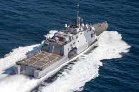 палуба, открытое море, военный корабль