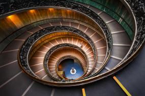 Ватиканская лестница, Архитектура, человек, спираль