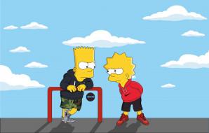 Адидас, Рисунок, Симпсоны, Лиза, Lisa Simpson, Мультсериал, Lisa, The Simpsons, Шоу, Nike, Simpsons, Барт, Adidas, Bart, Мультфильм