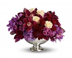 розы, орхидеи, георгины, гортензия