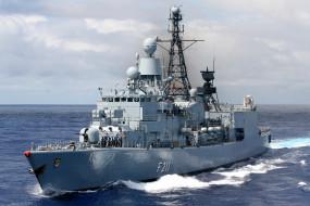 бремен класс, военно-морские силы, фрегат, военный корабль