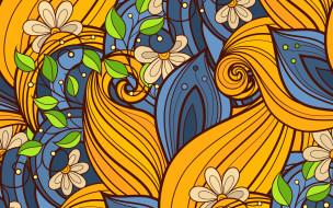 текстура, Pattern, Floral, пейсли, фон