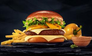 перец, гамбургер, бургер