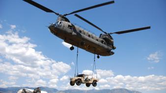 чинук, boeing, ch-47 chinook, военно-транспортный вертолет