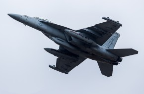 авиация, боевые самолёты, самолёт, небо, vaq-141, боевой, fa-18f, super, hornet