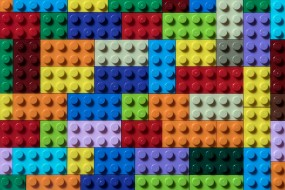 цвет, кубики, форма, lego