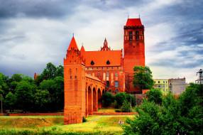 kwidzyn castle, города, замки польши, kwidzyn, castle
