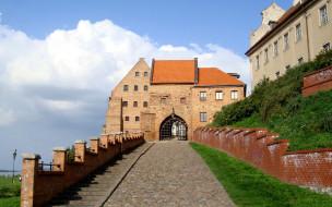 grudziadz castle, города, замки польши, grudziadz, castle