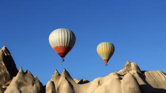 авиация, воздушные шары, полет