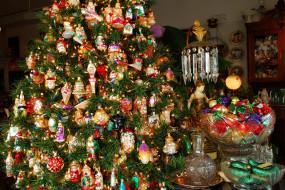 праздничные, Ёлки, игрушки, елка