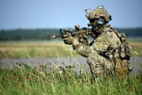 оружие, армия, спецназ, солдат