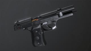 обои для рабочего стола 1920x1080 оружие, пистолеты, beretta, m92fs, pietro, самозарядный, пистолет