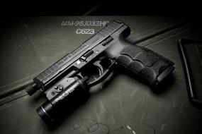 HK VP9 Tactical обои для рабочего стола 2048x1366 hk vp9 tactical, оружие, пистолеты, ствол