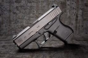 glock 43, оружие, пистолеты, ствол