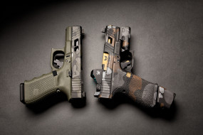 glock, оружие, пистолеты, ствол