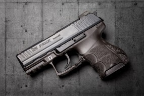 heckler & koch p30 sk, оружие, пистолеты, ствол