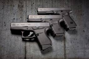 glock family, оружие, пистолеты, ствол