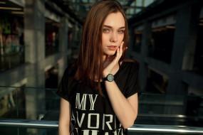 девушка, девушки, -unsort , брюнетки, темноволосые, модель