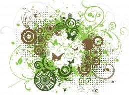 векторная графика, животные , animals, фон, butterflies, grunge, floral, абстракция, design, текстура