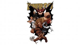 Thunderbolts, Бумеранг, Мистер Хайд, комикс, Сатана, Moonstone, Marvel Comics, Тролль