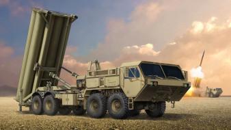 Подвижная пусковая установка, THAAD, противоракетный комплекс, Lockheed Martin Missiles and Space, Terminal High Altitude Area Defense