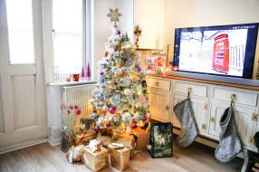 праздничные, Ёлки, елка, подарки