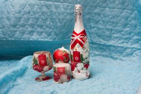 праздничные, угощения, шампанское