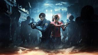 action, шутер, Resident Evil 2, 2019, horror