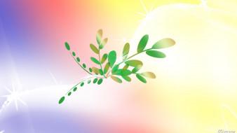 листья, ветки